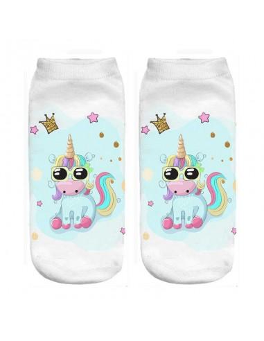 Unicorn Summer Mode Socks
