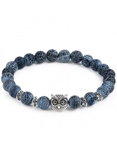 Marine Owl Bracelet