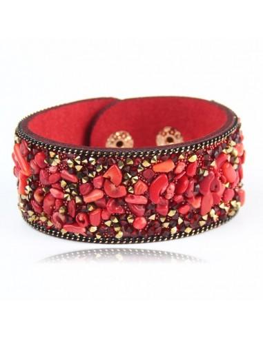 Bracelet Coloured Stones
