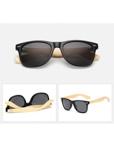 Gafas de sol con montura en negro mate