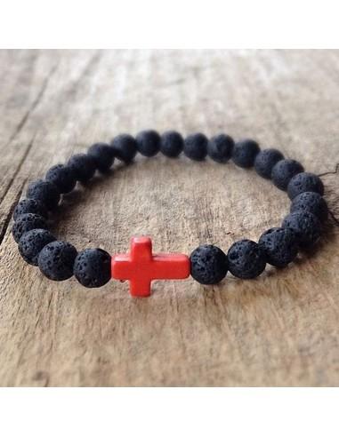 Bracelet Lava Cross of Color